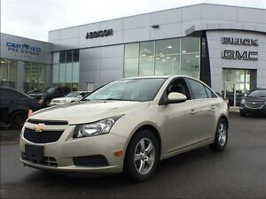 2014 Chevrolet Cruze 2LT One owner, accident free