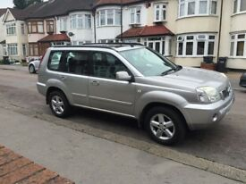 Lovely 2004 Nissan X-Trail 2.5 Automatic 4x4, 1 Yrs MOT, Full Options, 3 Owners, Excellent, Auto