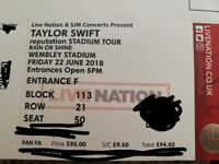 3 X Taylor Swift 'reputation' tickets! Wembley Stadium