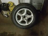 Bmw x5 spare wheel