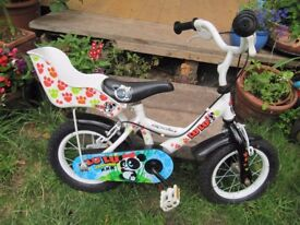 Immaculate Kids Bicycle with Chain guard and Teddy/dolly Basket