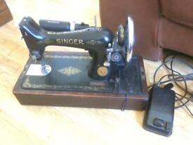 Vintage Singer 99k Electric Sewing Machine