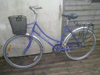 Classic/Vintage Raleigh 3 speed ladies bicycle - Town bicycle