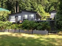 3 bedroom cabin on Pitt Lake