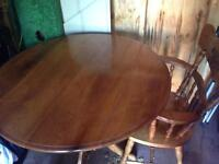 Kitchen table with 3chairs
