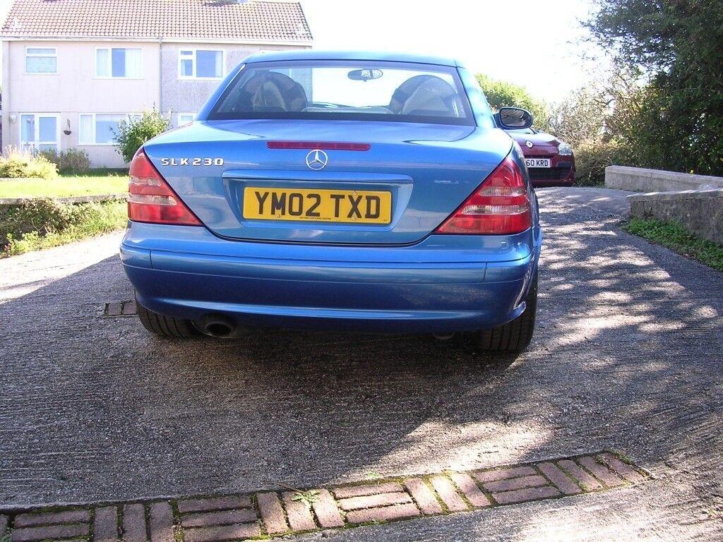 Mercedes Slk 230 Auto In Lazulithe Blue St Austell Cornwall Slk230 Fuel Filter