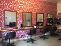 Lease for sale for busy Salon in Edinburgh with a beauty room and existing clientele