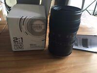 60mm f/2.8 2:1 Super Macro lens for SONY NEX E Mount Camera A7R ,A7S,NEX 7 6 5N 5C
