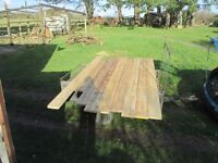 Scaffold Plank Shelving/Shop Fittings