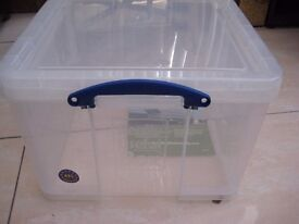 NEW !! Really Useful BOX Storage Boxes Large 42 Litre Storage Boxes Really useful BOX Box Handy box