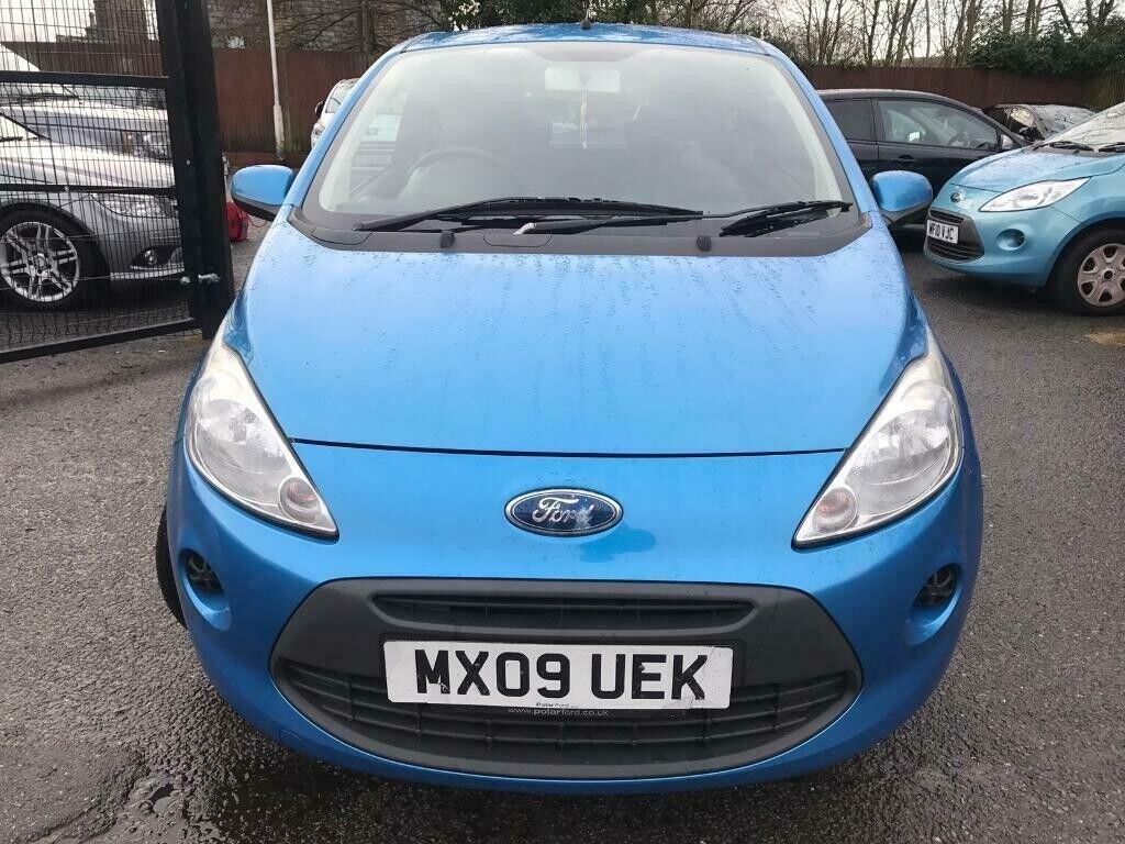 Plate Ford Ka Style One Year Mot Low Insurance  Year Tax