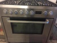 Aeg Electrolux range gas cooker and electric ovens 90cm