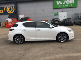 2015 Lexus Ct200 Hybrid Advance Plus 1 Owner From New Hpi Clear