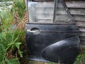 morris minor front doors van or 4 door - £ 45 each
