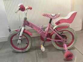 Girls Hello Kitty Bike & helmet