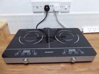 Double Ring Plug-In Induction Hob