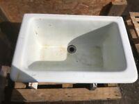 Large sloped front Old Belfast butler sink