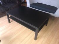 Black Ikea Coffee Table