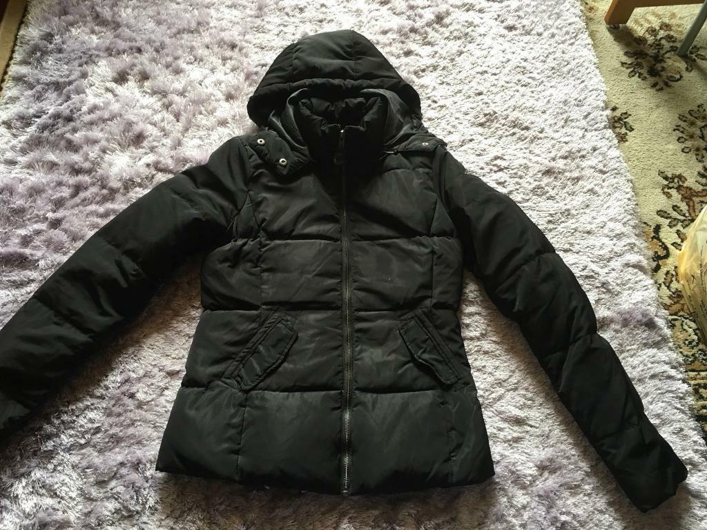Only Tahoe Zipped Hooded Jacket Ladies Parka jacket Coat Top Zip Black  colour Size  XS used £5 66d94b90eac6