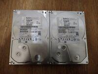 """2 x 1TB 7200RPM 3.5"""" HDD"""