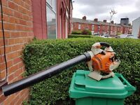 stihl bg86c,SEE VIDEO! handheld leaf blower in very clean and good working condition.