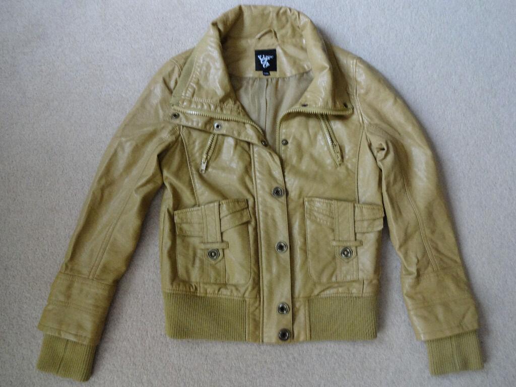 Vero Moda Women's Tan Jacket - Coat - Size 10 - Small - Medium