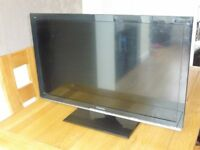 "Panasonic 32"" LED TV black HD ready with Freeview"