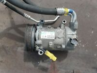 Air Con Pump Citroen C4 or Peugeot 2008 with some pipework