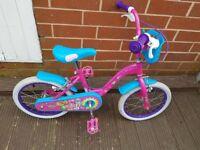 """Girls shopkins bike 16"""""""