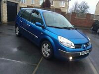 2006 55 renault grand scenic 1.6 dynamique 7 seater excellent condition
