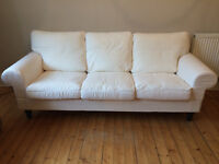 IKEA EKTORP Three-seat sofa. 6 years and 10 months of the guarantee left.