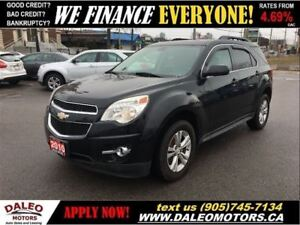 2010 Chevrolet Equinox 2LT AWD LEATHER 2.4L