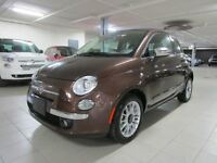 2014 Fiat 500C LOUNGE CONVERTIBLE *CUIR/AUTO*