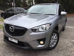 2014 Mazda CX-5 4x4 SKYACTIV Sports DVD SAT NAV 1 ONWER LOW KS A1 Sutherland Sutherland Area Preview