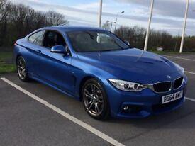 REDUCED!! BMW 420d M Sport Auto stunning blue