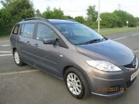Mazda 5 TS2 2.0 Diesel 7 seats, detachable Tow bar, locking wheel nuts, Thule roof bars included.
