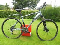 "18"" TRAIL / TOURING BICYCLE FOR SALE. 24 gears. £99 ono"