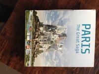 Paris The Great Saga Book 220pp hardback / DVDx2 / BluRay / 3D Postcards / Boxed £15