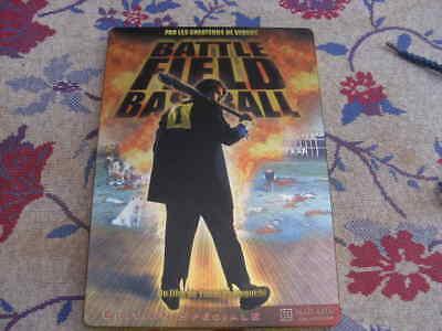 dvd film aventure action BATTLEFIELD BASEBALL edition speciale steelbook rare