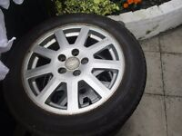 4x ford mondeo alloy wheels