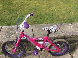 Girls Bike Age 4-7 years