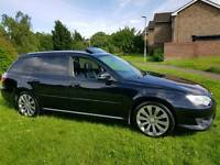 2007 SUBARU LEGACY R 3.0 SPORT ESTATE AWD 4 x 4 BLACK FULL HISTORY 1 YEARS MOT