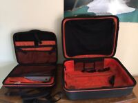 Wheeled Suit case with Brief case