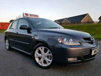 August 2008 Mazda 3 2.0 Sport 150bhp (HATCHBACK) XENONS! BOSE SOUND! Great Example! FULL YEARS MOT!