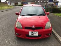 TOYOTA YARIS T SPORT 2003 LOADS OF MODIFICATIONS MUST SEE GREAT LOOKER!!