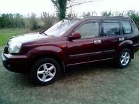 2002 nissan x-trail sport auto 2.0 petrol with LPG 4x4