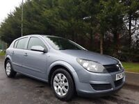 MAY 2004 VAUXHALL ASTRA CLUB 1.7 CDTI TURBO DIESEL 5DOOR SILVER METALLIC EXCELLENT CONDITION MOT MAY
