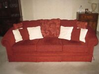 3 Seater scatter backed Sofa (FR)
