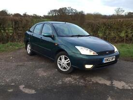 Ford Focus 1.8 Ghia saloon