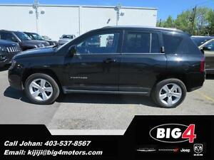 2015 Jeep Compass High Altitude, leather, sunroof, 4x4